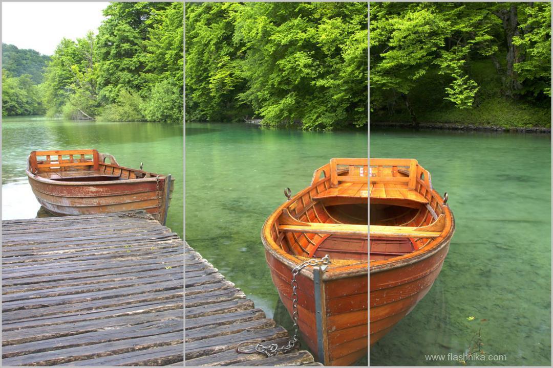 лодка на воде фото