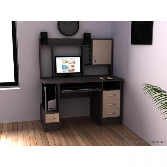 Стол компьютерный для ПК FLASHNIKA Ника 12