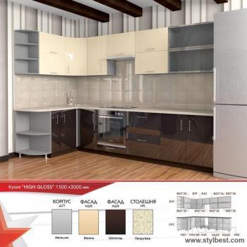 Кухня HIGH GLOSS 11