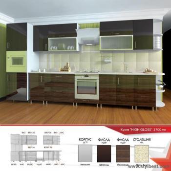 Кухня HIGH GLOSS 16