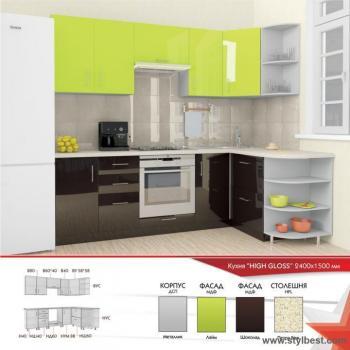 Кухня HIGH GLOSS 20