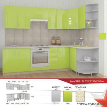 Кухня HIGH GLOSS 22