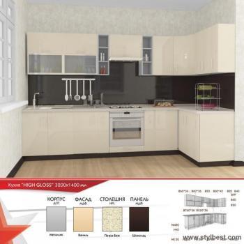 Кухня HIGH GLOSS 25