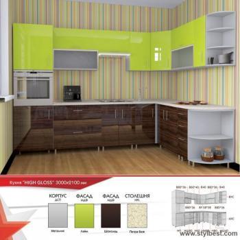 Кухня HIGH GLOSS 27