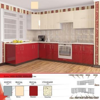 Кухня HIGH GLOSS 29