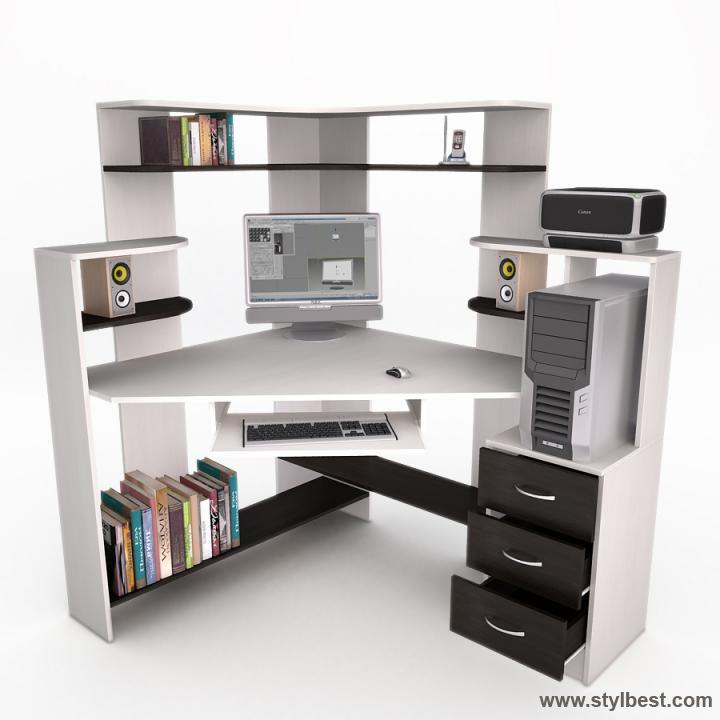 Комп'ютерний стіл FLASHNIKA Флеш 34