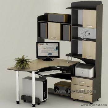 Стол компьютерный Тиса Мебель СК - 18