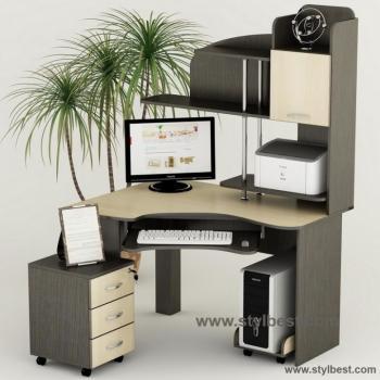 Стол компьютерный Тиса Мебель СК - 23