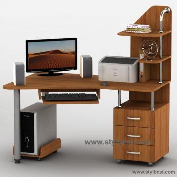 Стіл комп'ютерний Тиса Меблі Тиса-7