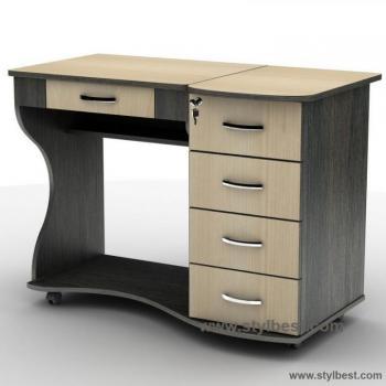 Компьютерный стол Тиса Мебель СУ-6К