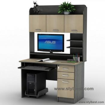 Компьютерный стол Тиса Мебель СУ-12