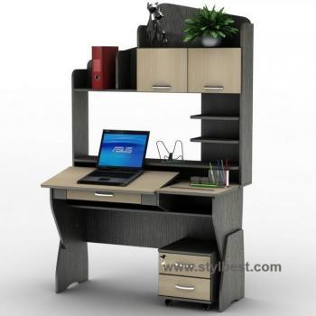 Компьютерный стол Тиса Мебель СУ-25 Профи