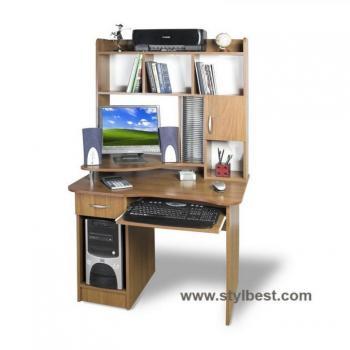 Компьютерный стол Тиса Мебель СКМ - 3