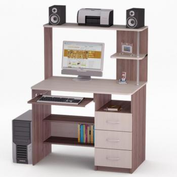 Компьютерный стол FLASHNIKA LED 63