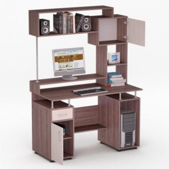 Компьютерный стол FLASHNIKA LED 41
