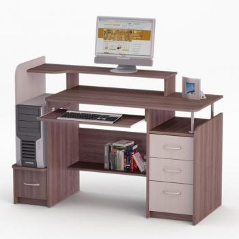Компьютерный стол FLASHNIKA LED 39