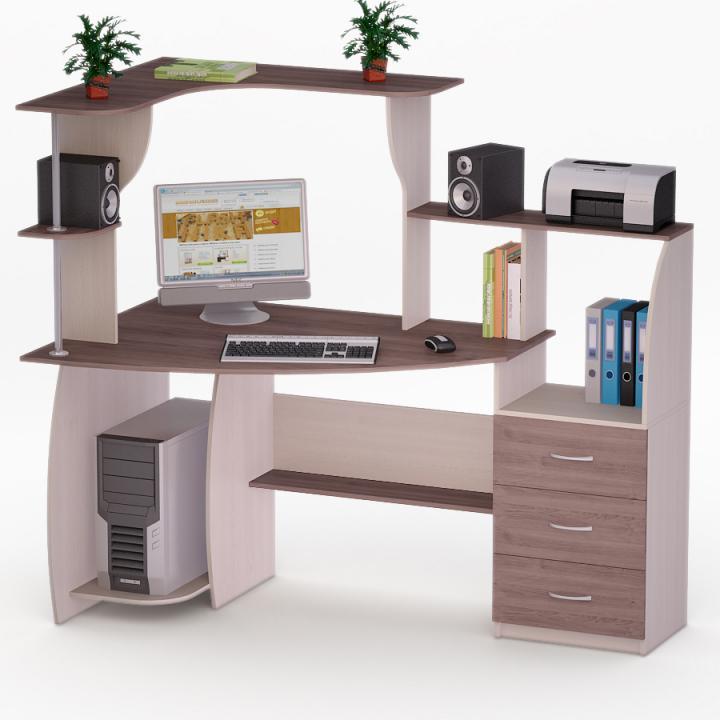Стіл для комп'ютера FLASHNIKA LED 7