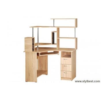 Компьютерный стол Компакт с надстройкой