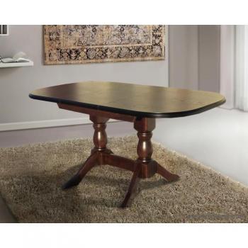 Стол обеденный МиксМебель Орфей  (120 ) темный орех