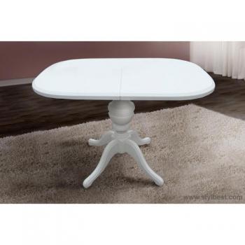 Стол обеденный Триумф белый