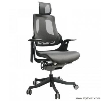 Офисное кресло WAU Grey, mesh fabric