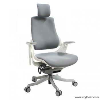 Офисное кресло WAU Grey slate white