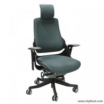 Офисное кресло WAU Grey slate black