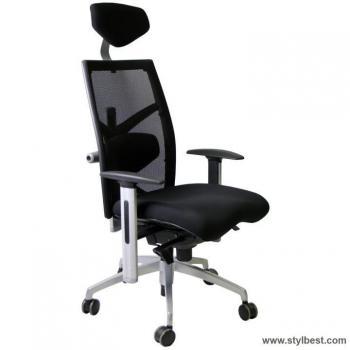 Офисное кресло Exact Black , fabrik / mesh