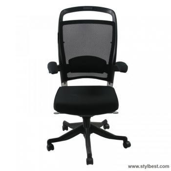Кресло офисное FULKRUM Black Mesh / Fabric