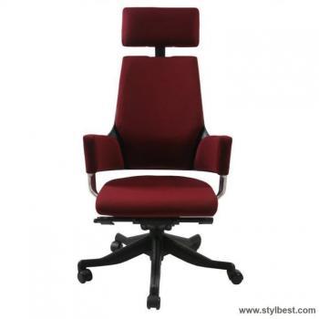 Кресло офисное DELPHI , Dark red