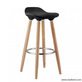 Барный стул ABBA Black