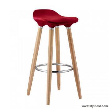 Барный стул ABBA, Dark red