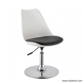 Барный стул ARON , White- black
