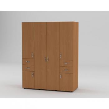 Шафа 20 для одягу з ящиками та полицями Компаніт