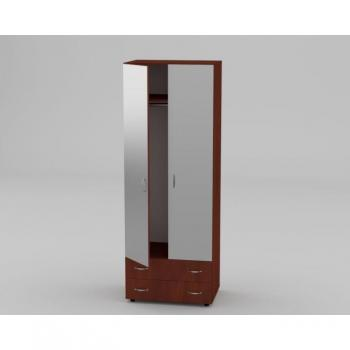 Шкаф 5 для одежды с зеркалом Компанит