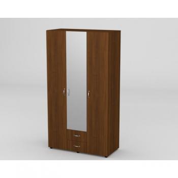 Шафа 6 для одягу з дзеркалом Компаніт