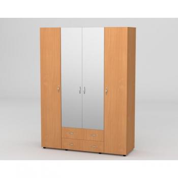 Шафа 7 для одягу з дзеркалом Компаніт