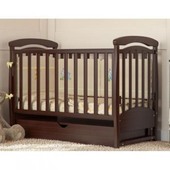 Детская кроватка для новорожденных Маятник