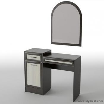Столик туалетный с подвесным зеркалом Тиса БС-6