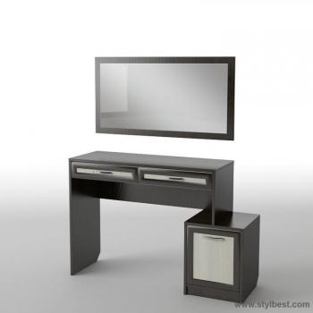 Будуарный столик с зеркалом Тиса БС-11