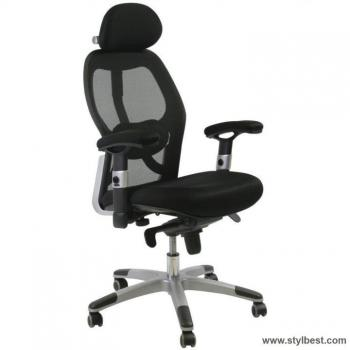 Кресло офисное GAIOLA,black chrome