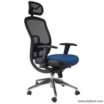 Кресло офисное LUCCA, blue