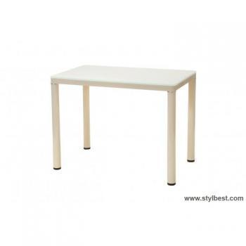 Кухонный стол T-300-1 кремовый