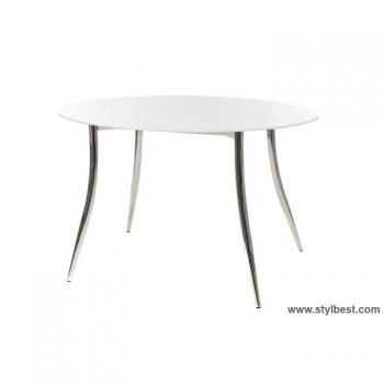 Кухонный стол Т-501 снежно-белый