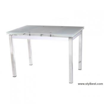 Кухонный стол T-231-3 снежно-белый