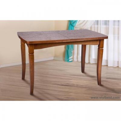 Стол деревянный МиксМебель Леон (орех)