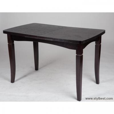 Стол деревянный МиксМебель Леон (венге)