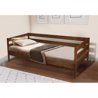Ліжко односпальне МіксМеблі Sky-3 (коньячна)