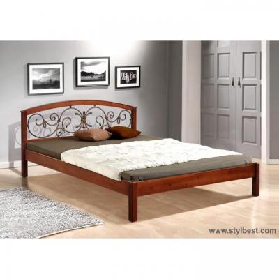 Кровать МиксМебель Джульетта (Ольха)