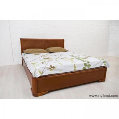 Ліжко Асоль Мікс Меблі (бук, на підъємній рамі)